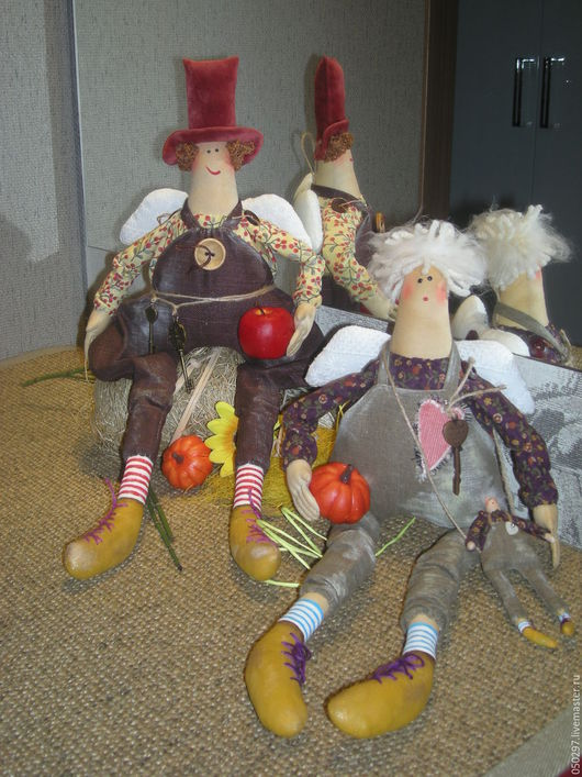 Коллекционные куклы ручной работы. Ярмарка Мастеров - ручная работа. Купить Кукла Ангел хорошего настроения. Handmade. Разноцветный, ангелочек