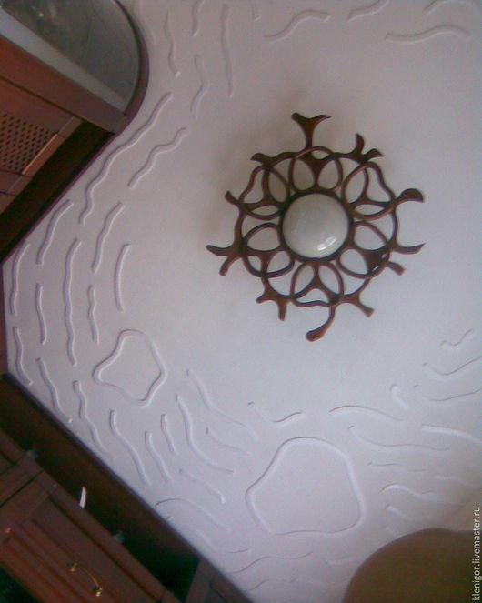 Элементы интерьера ручной работы. Ярмарка Мастеров - ручная работа. Купить облака на потолке. Handmade. Потолочный светильник