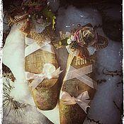 Для дома и интерьера ручной работы. Ярмарка Мастеров - ручная работа Волшебные туфельки- украшение для будуара. Handmade.
