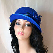 Аксессуары handmade. Livemaster - original item Hat Vasilki. Handmade.