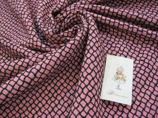 Шитье ручной работы. Ярмарка Мастеров - ручная работа. Купить Шелк в стиле Шанель.. Handmade. Розовый, шелковая блузка