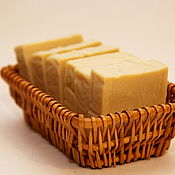 """Косметика ручной работы handmade. Livemaster - original item Молочное мыло на оливковом масле """"Молочная кастилья"""". Handmade."""