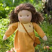 Куклы и игрушки ручной работы. Ярмарка Мастеров - ручная работа Вальдорфская кукла в пришивной одежде. Нина. Handmade.