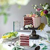 Для дома и интерьера handmade. Livemaster - original item Square stand for cake and cupcakes. Handmade.