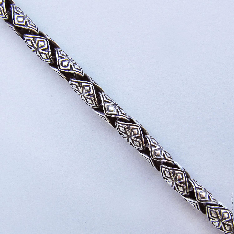 цепочки мужские серебряные фото