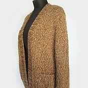 """Одежда ручной работы. Ярмарка Мастеров - ручная работа Кардиган """"Миндаль"""". Handmade."""
