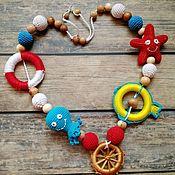 Слингобусы ручной работы. Ярмарка Мастеров - ручная работа Слингобусы ``Море зовёт``. Handmade.