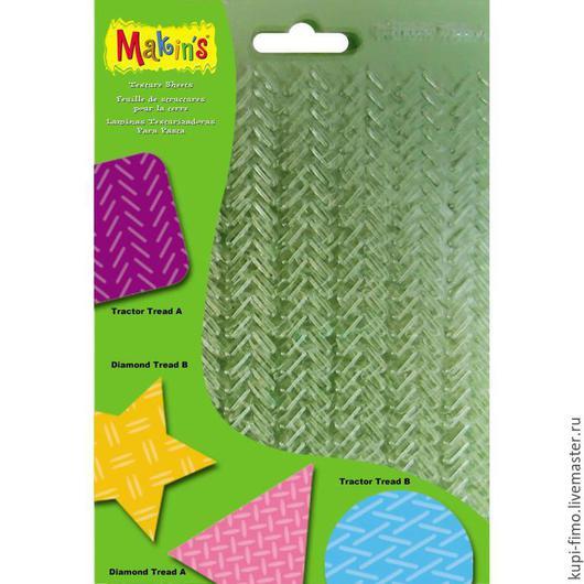 Для украшений ручной работы. Ярмарка Мастеров - ручная работа. Купить Makin's текстурные листы 4 вида в одном наборе. Handmade.