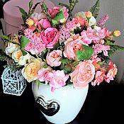 Композиции ручной работы. Ярмарка Мастеров - ручная работа Интерьер, декор, цветочная композиция. Handmade.