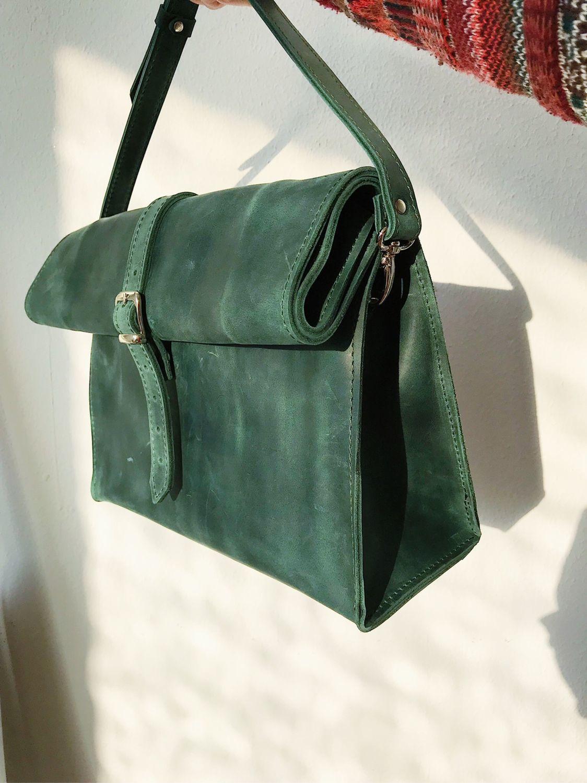 c0fb7cfca6f2 Интернет Женские сумки ручной работы. Заказать Кожаная сумка-ролл. SHERWOOD  (Sherwoodshop).