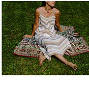 """Одежда ручной работы. Ярмарка Мастеров - ручная работа Летний сарафан """"Мокко"""". Handmade."""