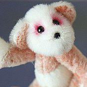 Куклы и игрушки ручной работы. Ярмарка Мастеров - ручная работа Мини мишка Феечка. Handmade.