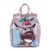 handmade. Livemaster - original item Women`s backpack,