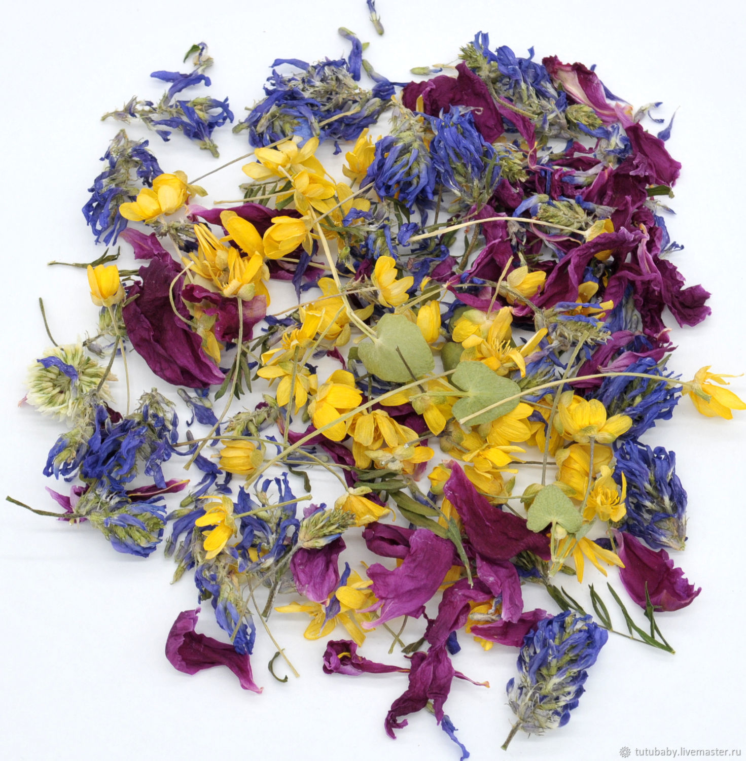 Set of dried flowers, collection 2020g, The dried flowers, Buzuluk,  Фото №1