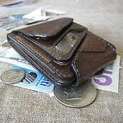 Сумки и аксессуары handmade. Livemaster - original item A durable wallet with a small change of the original design. Handmade.