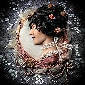 """Украшения ручной работы. Ярмарка Мастеров - ручная работа Брошечка """"Чайная роза"""". Handmade."""