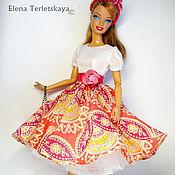 Куклы и игрушки ручной работы. Ярмарка Мастеров - ручная работа платье для куклы ШИК. Handmade.