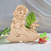 Материалы для творчества handmade. Livemaster - original item Girl I`m a Bunny, a blank for creativity. Handmade.