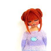 Куклы и игрушки ручной работы. Ярмарка Мастеров - ручная работа Рыжая девочка. Handmade.