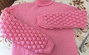 """Одежда ручной работы. Ярмарка Мастеров - ручная работа Вязаный свитер ручной работы  """"Ягодка"""". Handmade."""