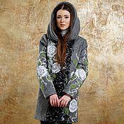 Одежда ручной работы. Ярмарка Мастеров - ручная работа Пальто демисезонное Робкая весна. Handmade.