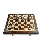 Сувениры и подарки ручной работы. Ярмарка Мастеров - ручная работа Шахматы набор 3 в 1 нарды, шашки. Handmade.