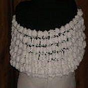 Одежда ручной работы. Ярмарка Мастеров - ручная работа Болеро (шарф с рукавами). Handmade.