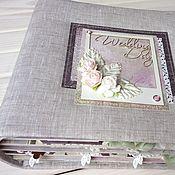 Подарки ручной работы. Ярмарка Мастеров - ручная работа Подарки: Свадебный фотоальбом. Handmade.