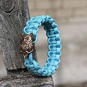 Украшения handmade. Livemaster - original item Wisdom - a paracord bracelet. Handmade.