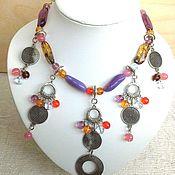 Украшения handmade. Livemaster - original item Tsyganochka2-beads(necklace). Handmade.