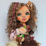 Dolls handmade. Livemaster - original item Interior textile doll. Anuta.. Handmade.