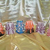 Сувениры и подарки ручной работы. Ярмарка Мастеров - ручная работа Резные свечи h-12 см. Handmade.