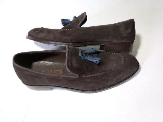 """Обувь ручной работы. Ярмарка Мастеров - ручная работа. Купить Праздничный """"Лофер П"""". Handmade. Замшевая обувь, обувь на заказ"""