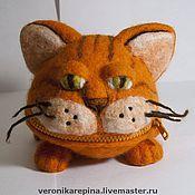 Куклы и игрушки ручной работы. Ярмарка Мастеров - ручная работа Кот хитрюга. Handmade.