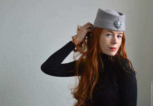 """Шляпы ручной работы. Ярмарка Мастеров - ручная работа. Купить Шляпка   - пилотка """"Анна"""" СКИДКА!. Handmade. Шляпка таблетка"""
