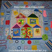 Куклы и игрушки ручной работы. Ярмарка Мастеров - ручная работа массажно-развивающий коврик. Handmade.