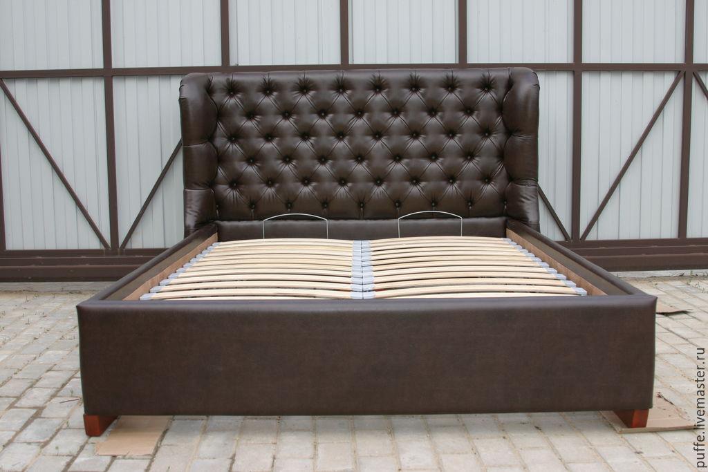 каретная стяжка фото кровать