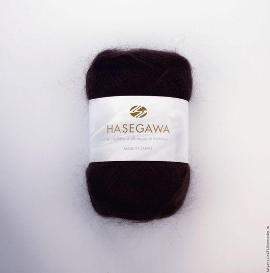 Вязание ручной работы. Ярмарка Мастеров - ручная работа. Купить Пряжа Hasegawa Seika № 15 DARK BROWN. Handmade.
