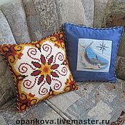 Для дома и интерьера ручной работы. Ярмарка Мастеров - ручная работа Уютные подушки. Handmade.