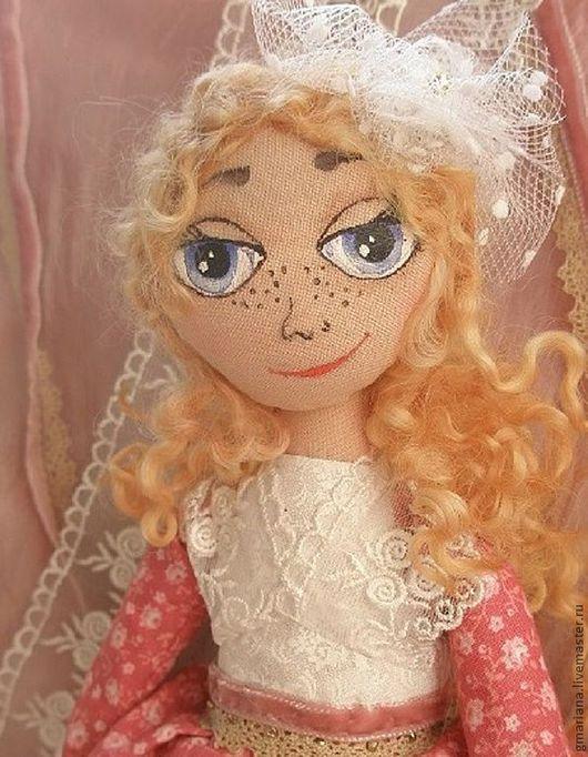 Куклы тыквоголовки ручной работы. Ярмарка Мастеров - ручная работа. Купить Кукла Лёлика. Handmade. Кукла ручной работы, подарок