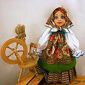 Для дома и интерьера ручной работы. Ярмарка Мастеров - ручная работа Кукла пакетница Алёнка. Handmade.