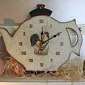 """Для дома и интерьера ручной работы. Ярмарка Мастеров - ручная работа Часы """"Петушки"""". Handmade."""