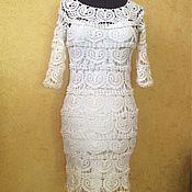 """Одежда ручной работы. Ярмарка Мастеров - ручная работа Платье """" Белое сердечко"""". Handmade."""