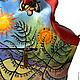 """Женские сумки ручной работы. Сумка № 39 """"Пес ада и райская птица"""". ANTE-KOVAC (ante-kovac). Ярмарка Мастеров."""
