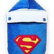 """Конверты на выписку ручной работы. Ярмарка Мастеров - ручная работа Конверт для новорожденного """"Супермен"""". Handmade."""