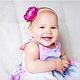 Детская бижутерия ручной работы. Повязка для волос Розовые цветы. Berry Fairy. Ярмарка Мастеров. Повязка с цветами, для мамы и дочки