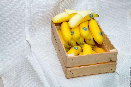 """Мыло ручной работы. Ярмарка Мастеров - ручная работа. Купить мыло """"банан"""". Handmade. Желтый, мыло в подарок, мыло, мыловарение"""