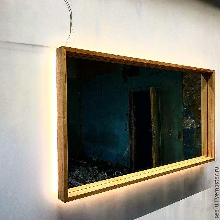 e318c27e68de Зеркало с led подсветкой – купить в интернет-магазине на Ярмарке ...