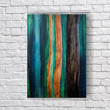 Картины и панно ручной работы. Ярмарка Мастеров - ручная работа Потоки Тропики. Handmade.