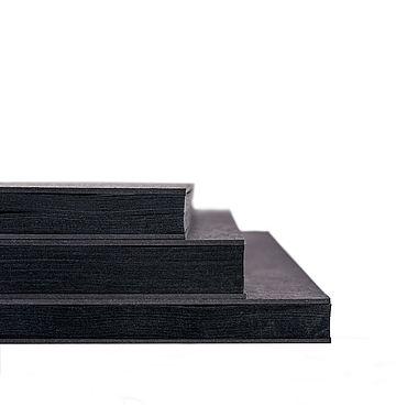 Канцелярские товары ручной работы. Ярмарка Мастеров - ручная работа Блок А5 скетчбук с чёрными листами для блокнота на кольцах. Handmade.